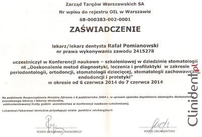 Diagnostyka, leczenie, profilaktyka, periodontologia, ortodoncja, stomatologia dziecięca, stomatologia zachowawcza, endodoncja, protetyka Wrocław