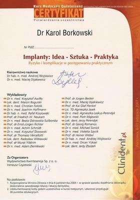 Wszczepy, implanty Wrocław