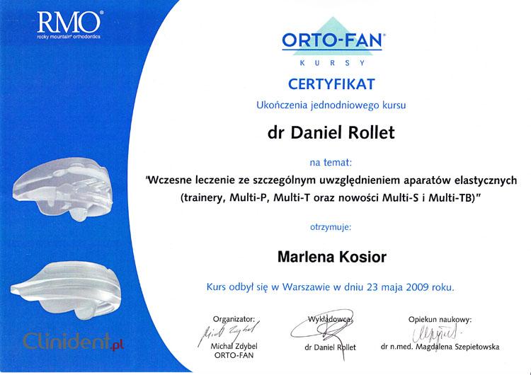 Aparaty elastyczne w ortodoncji, aparat elastyczny Wrocław