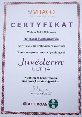 Szkolenie praktyczne w  stosowaniu preparatów wypełniających Juvederm w zabiegach konturowania oraz powiększania ust.