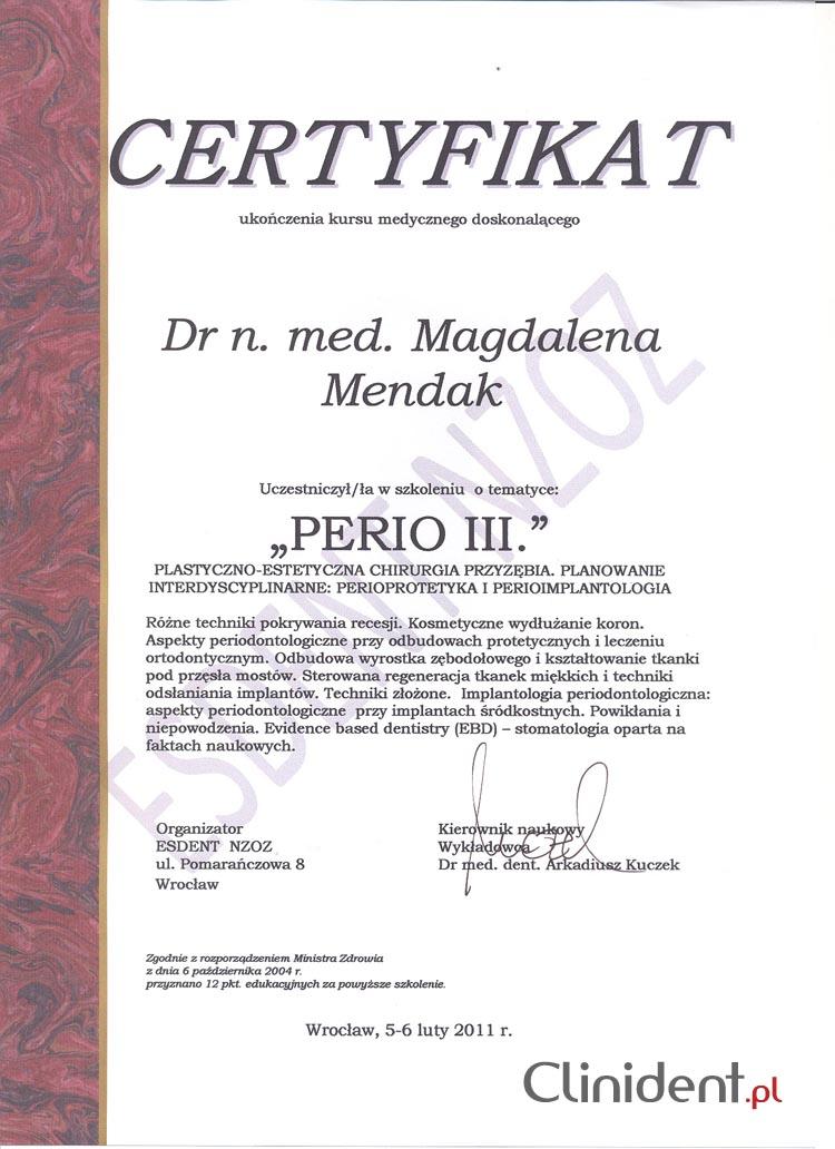 perioprotetyka, perioimplantologia, chirurgia
