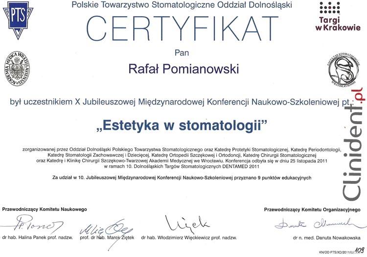 Stomatologia estetyczna Wrocław, estetyka w stomatologii współczesnej