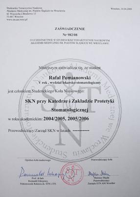 Protetyka, lekarz protetyk, stomatologia zachowawcza Wrocław