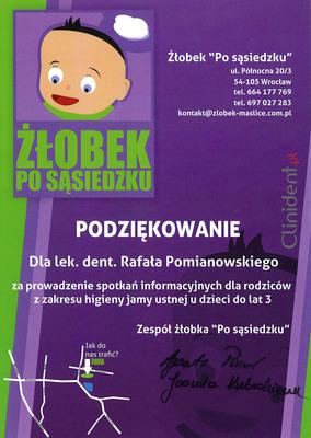 pedodoncja, żłobek dla dzieci, po sąsiedzku, ulica północna, pedodonta Wrocław